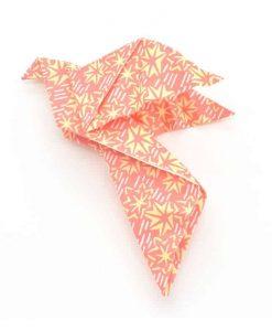 handmade paper origami dove