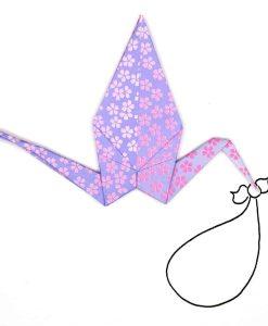 Origami-Stork-Card