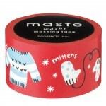 Knit Maste winter woolies christmas washi tape