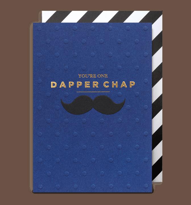 dapper chap card