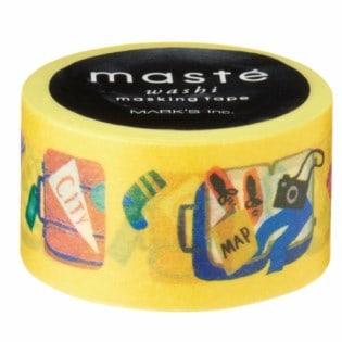 Masté suitcase washi tape