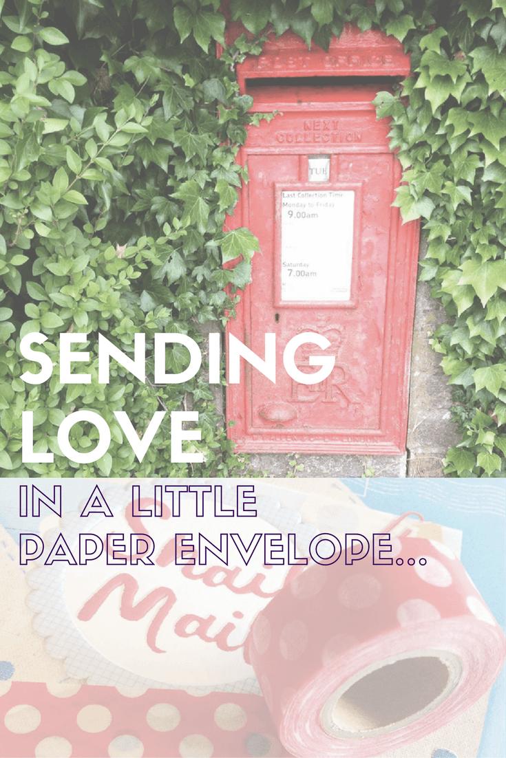 sending love postbox
