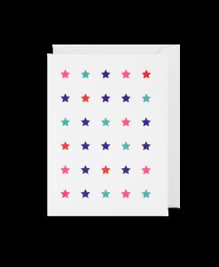 stars mini card